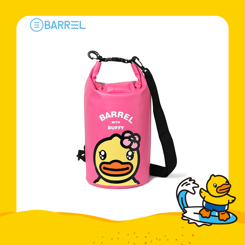 BDUCK waterproof bag pink_1
